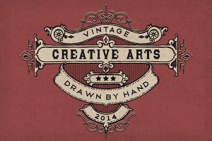 Vintage Hand Drawn Elements 2
