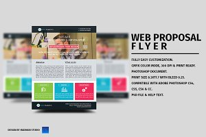 Web Proposal Flyer Template