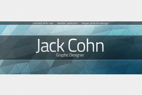 Clean YouTube Banner Template ~ Templates ~ Creative Market