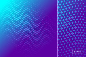 Star Halftone Pattern