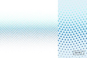 Triangle Wave Halftone Pattern