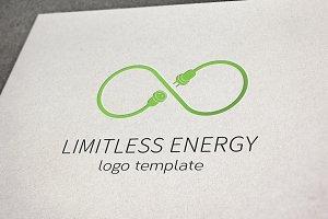 Limitless Energy Vector Logo Templat