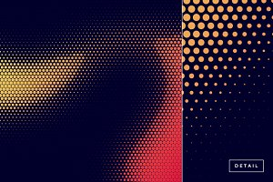 Wave Halftone Pattern