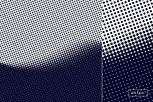 Black Halftone Pattern