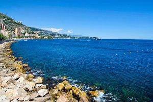 Monaco shoreline
