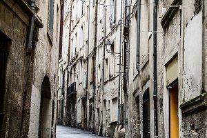 urban old street