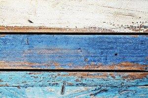 Ocean colored wooden panels backgrou