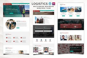 Logistics - WordPress Theme