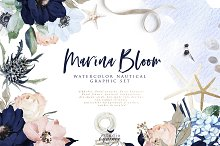 Marina Bloom - Nautical Graphic Set by  in Objects