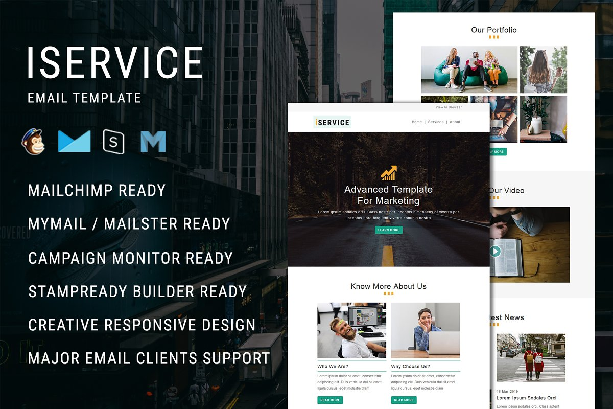 iService - Email Template
