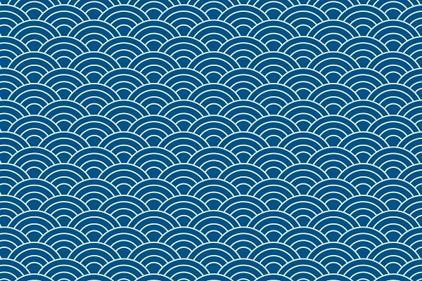 Vector Of Japanese Wave Pattern Pre Designed Illustrator Graphics Creative Market