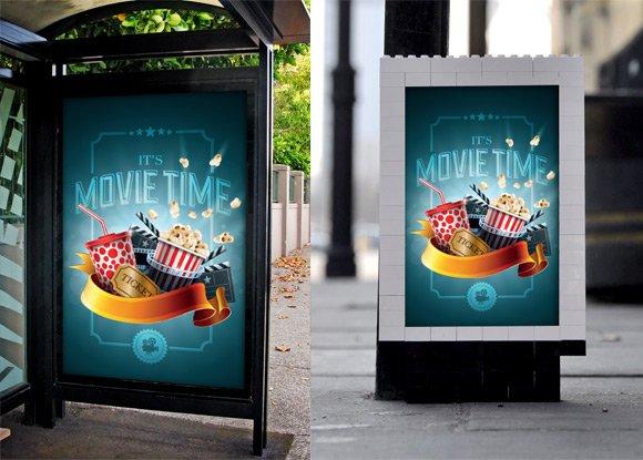 Variable Poster Mockup Template Print Mockups Creative Market