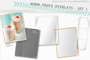 Worn Photo Overlays - Set 1