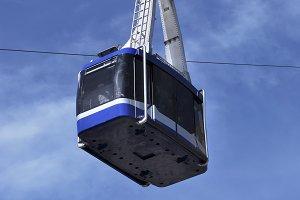 blue tramway