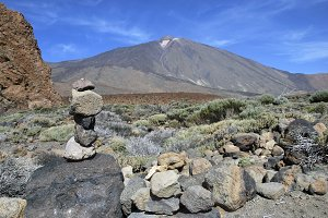 Cairn Teide, Canary Islands, Spain
