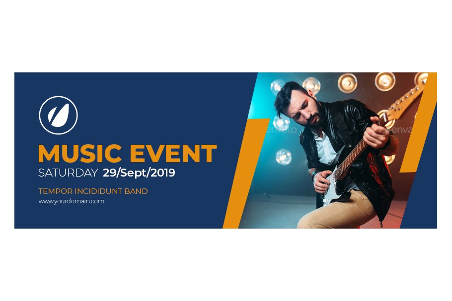 Music Event Animated Facebook Cover