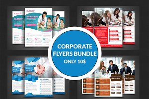 4 Business Flyers Bundle