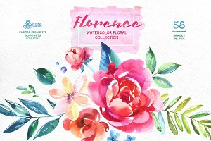 Florence. Floral Collection