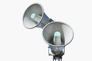 Speakers, megaphones