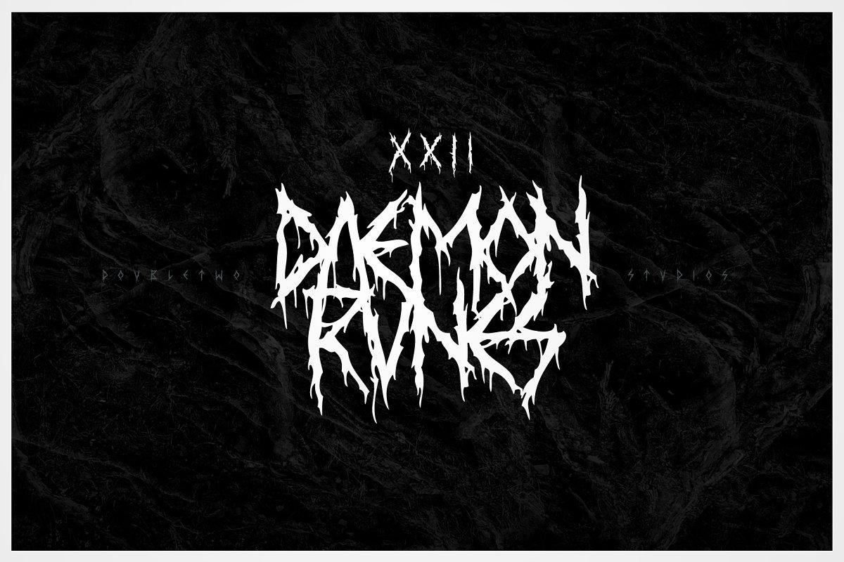 XXII Daemon Runes