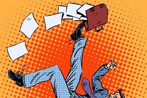 Businessman scores portfolio
