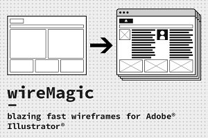 wireMagic - blazing fast wireframes