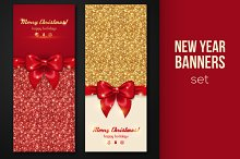 Shiny New Year Banners