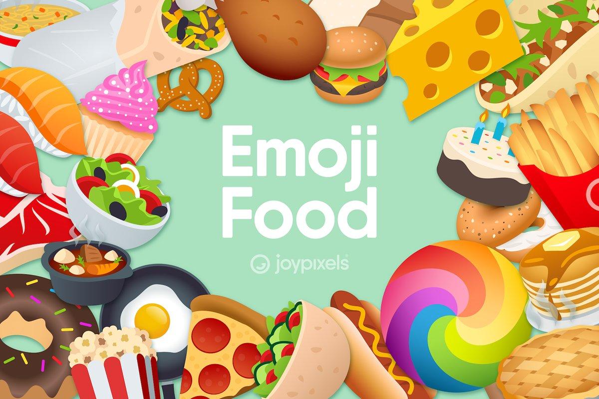Emoji Food by JoyPixels®