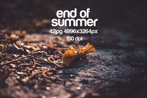 end of the summer