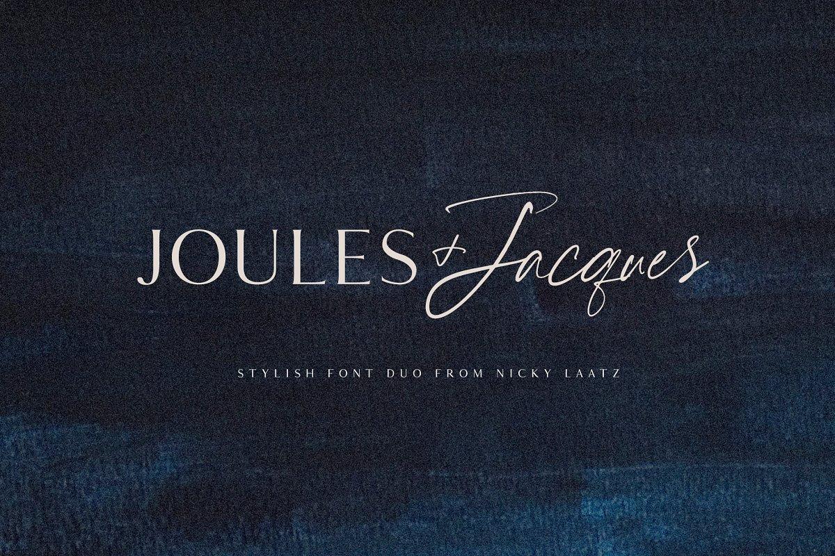 Joules et Jacques Font Duo