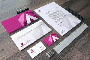 Photorealistic Stationery Mockup