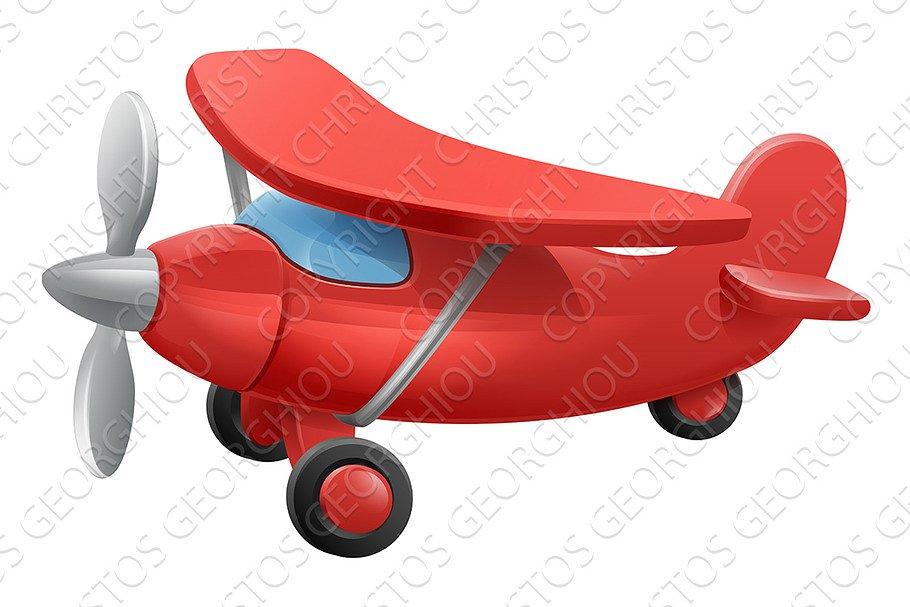 1723e7c9a6 Cartoon airplane pilot ~ Illustrations ~ Creative Market