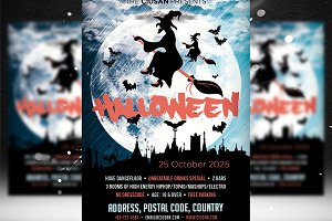 Halloween Flyer Template 3