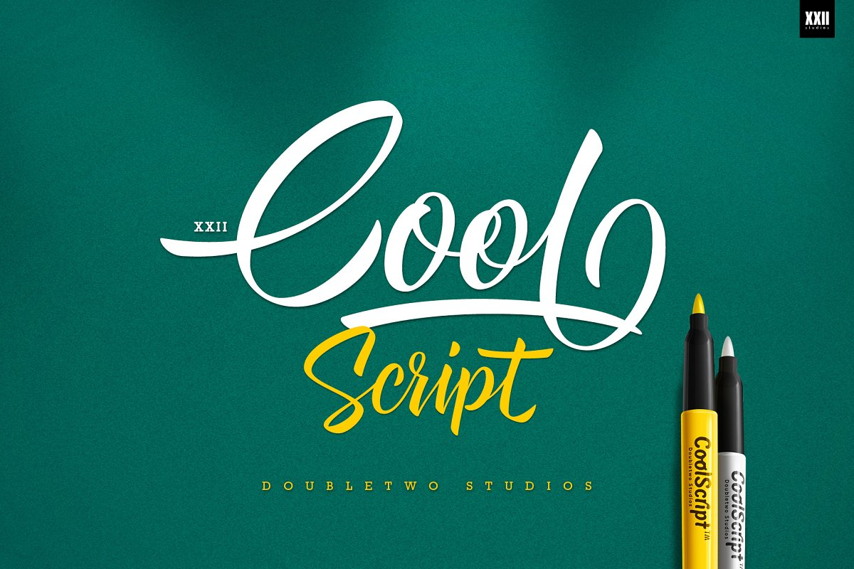 XXII Cool Script in Cool Fonts - product preview 8
