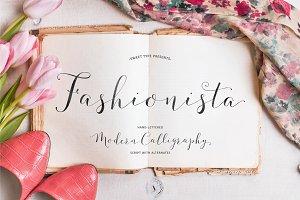 Fashionista Modern Calligraphy