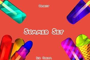 Summer Set - Ice Cream
