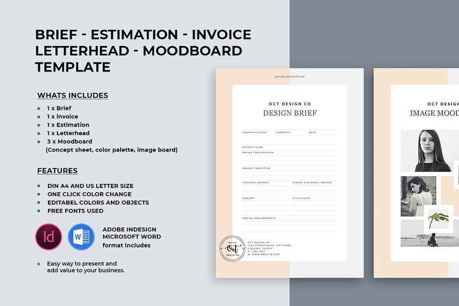 Brief - Estimation - Invoice