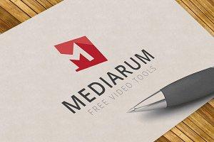 """Letter """"M"""" - Logo Template"""