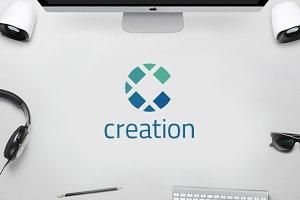 C Logo - Creative Circle Logo