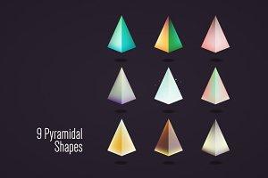 9 Pyramidal shapes