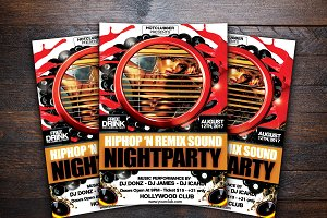 Hiphop and Remix Sound Night Party F