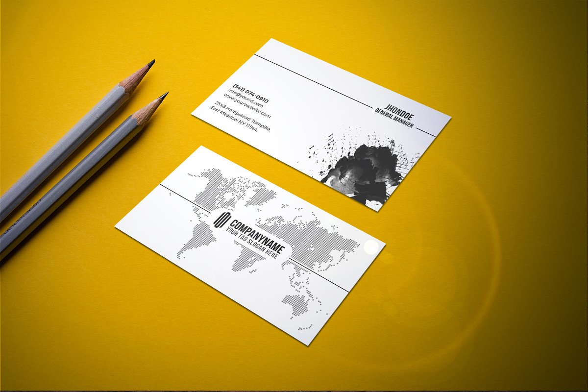 Modern & Clean Business  Card in Business Card Templates