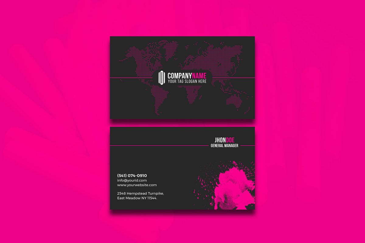 Modern & Clean Business  Card in Business Card Templates - product preview 8