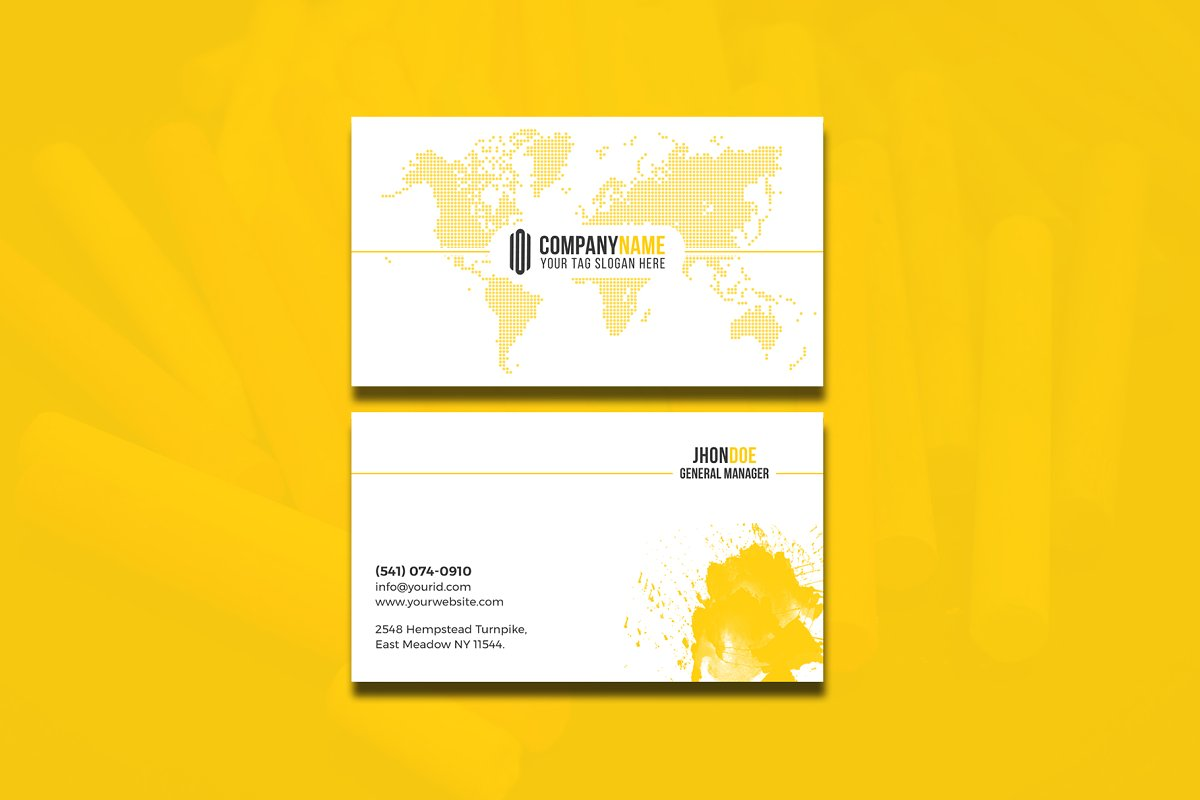 Modern & Clean Business  Card in Business Card Templates - product preview 10