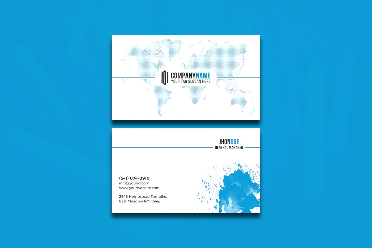 Modern & Clean Business  Card in Business Card Templates - product preview 7