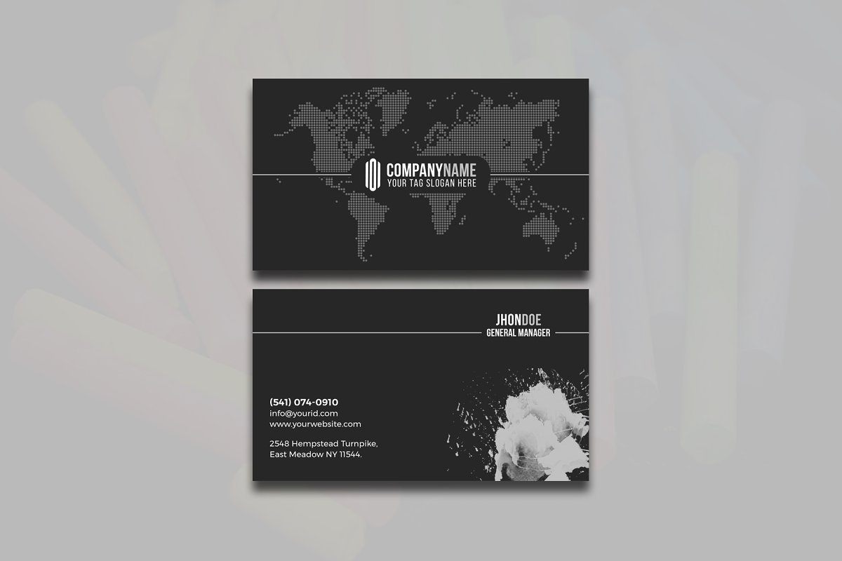 Modern & Clean Business  Card in Business Card Templates - product preview 5