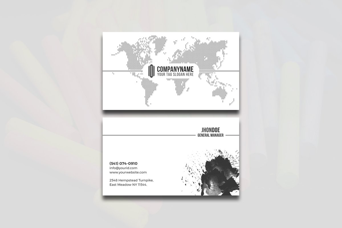 Modern & Clean Business  Card in Business Card Templates - product preview 6