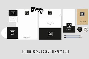 The Royal Stationery Mockup