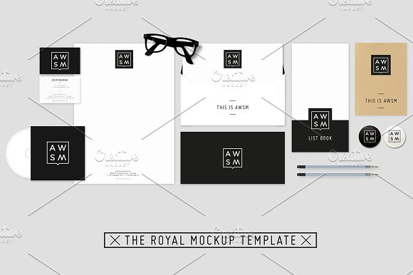 Download The Royal Stationery Mockup