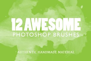 12 Awesome HandmadePhotoshop Brushes